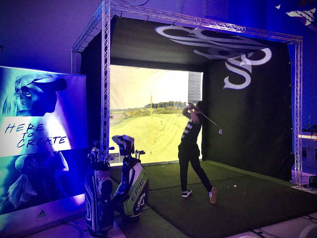Golf Simulator Hire